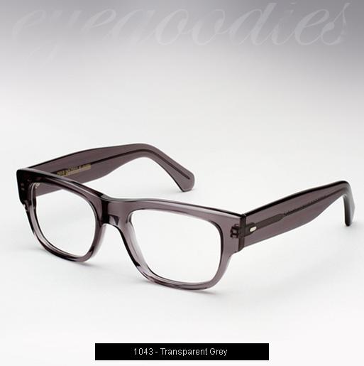 Cutler and Gross 1043 eyeglasses - Transparent Grey