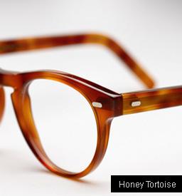 Cutler and Gross 1045 eyeglasses - Honey Tortoise