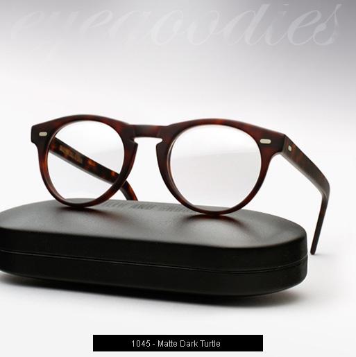 Cutler and Gross 1045 eyeglasses - Matte Dark Turtle