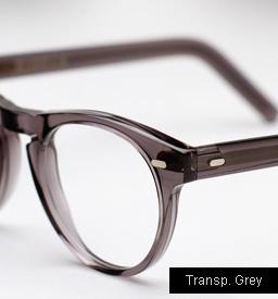 Cutler and Gross 1045 eyeglasses - Transparent Grey