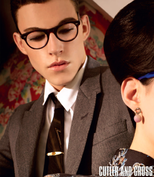 Cutler and Gross 1045 eyeglasses - Black