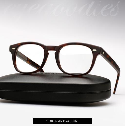 Cutler and Gross 1046 eyeglasses - Matte Dark Turtle