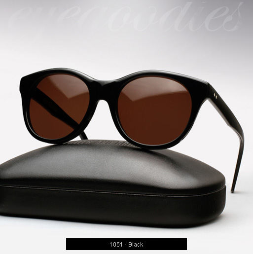 Cutler and Gross 1051 sunglasses in Black