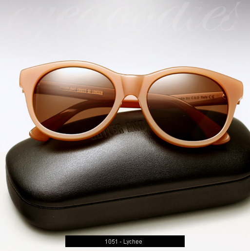 Cutler and Gross 1051 sunglasses in Lychee