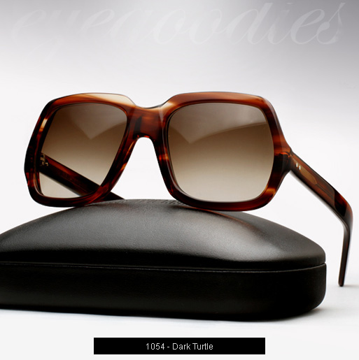 Cutler and Gross 1054 sunglasses in Dark Turtle