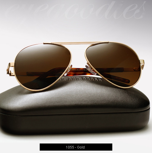 Cutler and Gross 1055 sunglasses in Gold