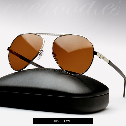 Cutler and Gross 1055 Sunglasses - Silver