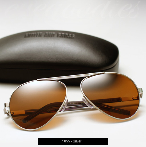 Cutler and Gross 1055 sunglasses in Silver