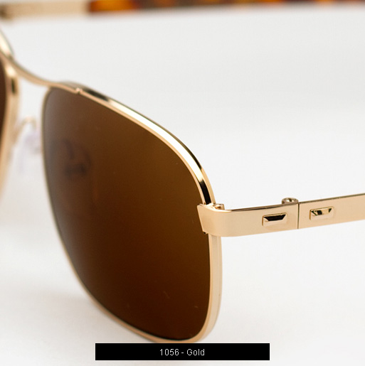 Cutler and Gross 1056 sunglasses in Gold