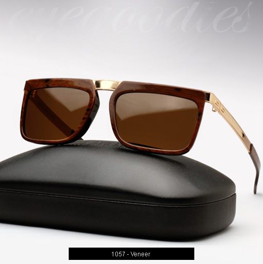 Cutler and Gross 1057 sunglasses in Veneer