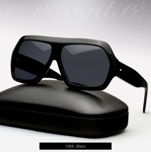 Cutler and Gross 1058 sunglasses in Black