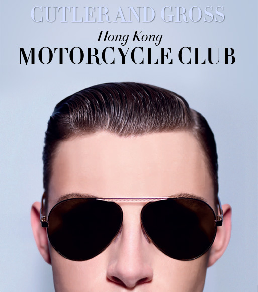 Cutler and Gross Hong Kong Motorcycle Club - Spring Summer 2012