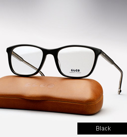 Garrett Leight Altair eyeglasses - Black