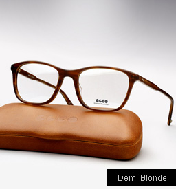 Garrett Leight Altair eyeglasses - Demi Blonde