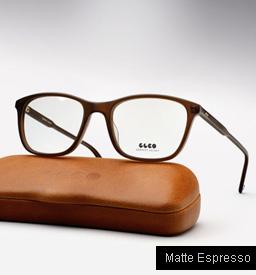 Garrett Leight Altair eyeglasses - Matte Espresso