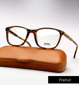 Garrett Leight Altair eyeglasses - Walnut