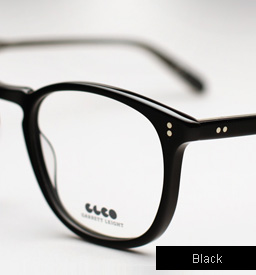 Garrett Leight Kinney eyeglasses - Black