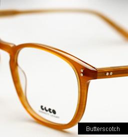Garrett Leight Kinney eyeglasses - Butterscotch