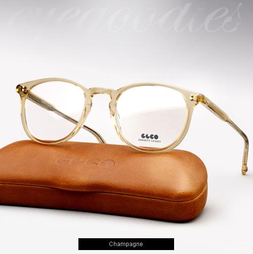 Garrett Leight Kinney eyeglasses - Champagne