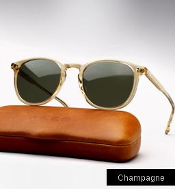 Garrett Leight Kinney sunglasses - Champagne