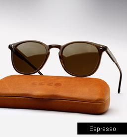 Garrett Leight Kinney sunglasses - Espresso