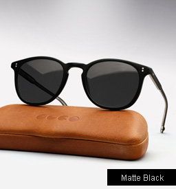 Garrett Leight Kinney sunglasses - Matte Black