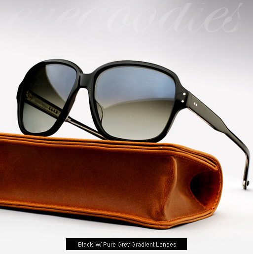 Garrett Leight Strongs Sunglasses - Black