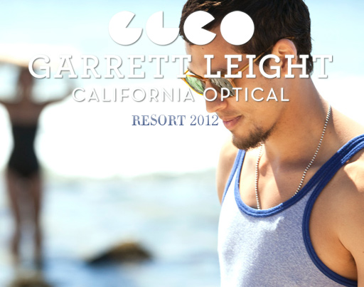 Garrett Leight Sunglasses Resort 2012