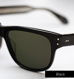 Garrett Leight Superba Sunglasses - Black