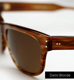 Garrett Leight Superba Sunglasses - Demi Blonde