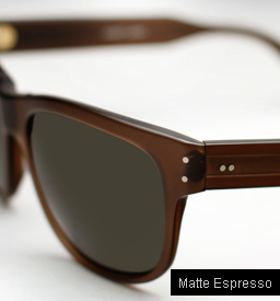 Garrett Leight Superba Sunglasses - Matte Espresso