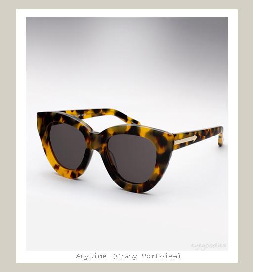 Karen Walker Anytime Sunglasses - Crazy Tortoise