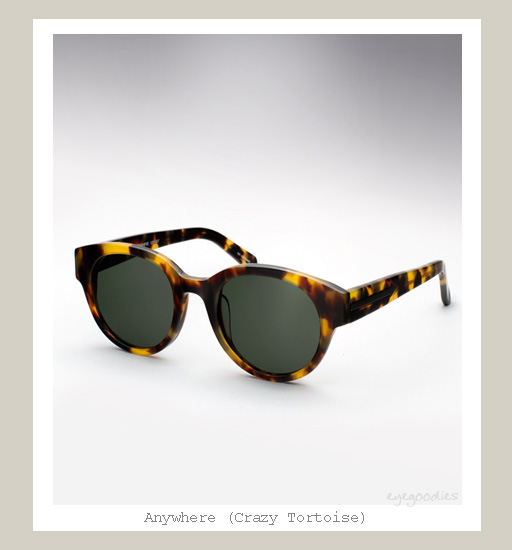 Karen Walker Anywhere sunglasses - Crazy Tortoise