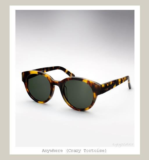 Karen Walker Anywhere sunglasses - Crazy Tortoise
