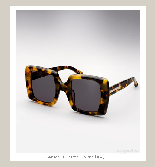Karen Walker Betsy sunglasses - Crazy Tortoise