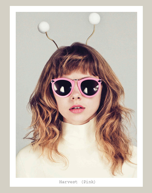 Karen Walker Harvest Sunglasses - Pink