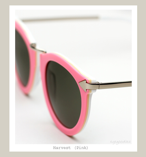 Karen Walker Harvest Sunglasses - Pink