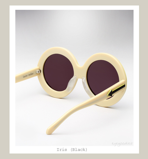 Karen Walker Iris Sunglasses - Black