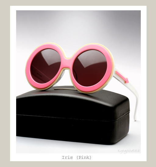 Karen Walker Iris Sunglasses - Pink