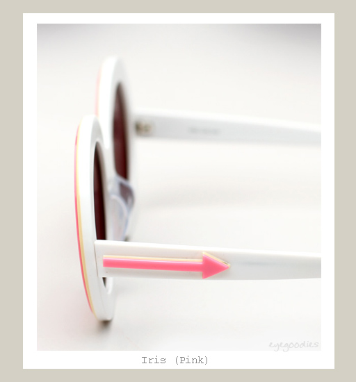 Karen Walker Iris Sunglasses - Pink