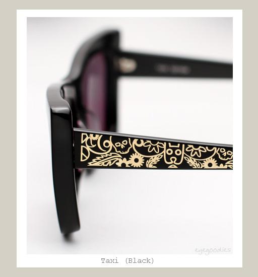 Karen Walker Taxi Sunglasses - Black