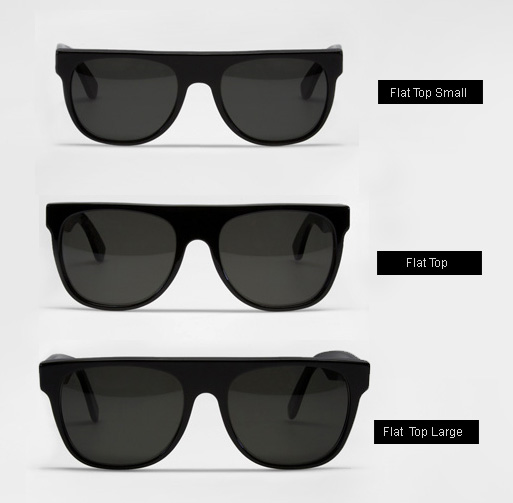 Super Flat Top Large Sunglasses