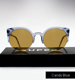 Lucia Candy Blue Sunglasses
