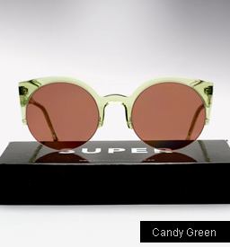 Lucia Candy Green Sunglasses