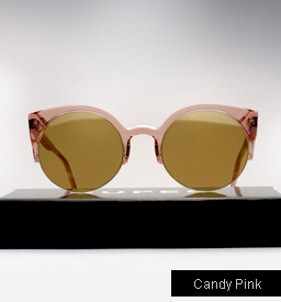 Lucia Candy Pink Sunglasses