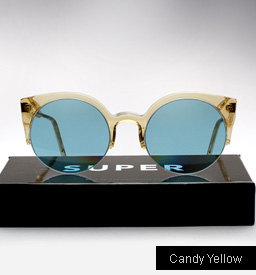 Lucia Candy Yellow Sunglasses