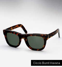 Super Ciccio Burnt Havana sunglasses