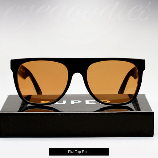 Super Flat Top Pilot Sunglasses