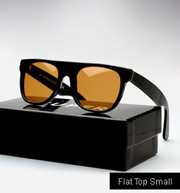 Super Flat Top Small Pilot Sunglasses