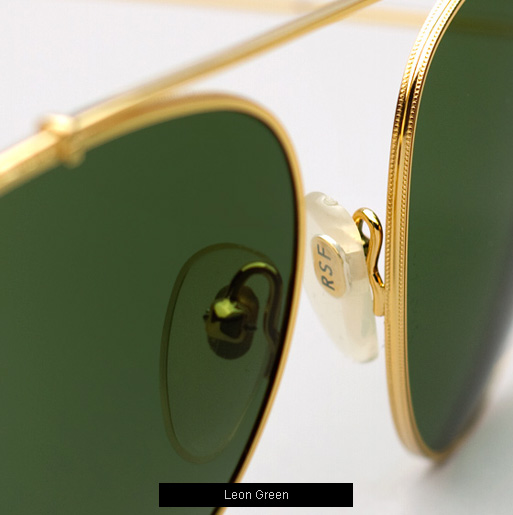 Super Leon Green Sunglasses
